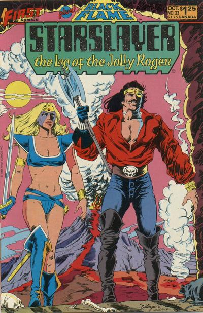Cover for Starslayer (First, 1983 series) #33