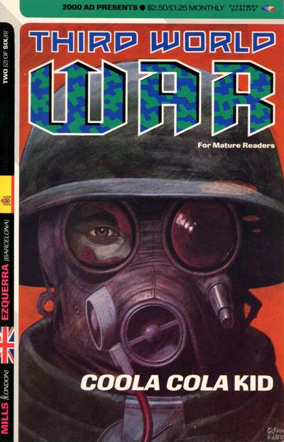 Cover for Third World War (Fleetway Publications, 1990 series) #2