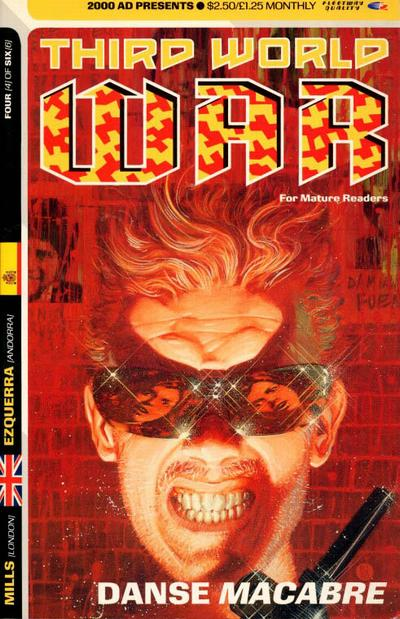 Cover for Third World War (Fleetway Publications, 1990 series) #4