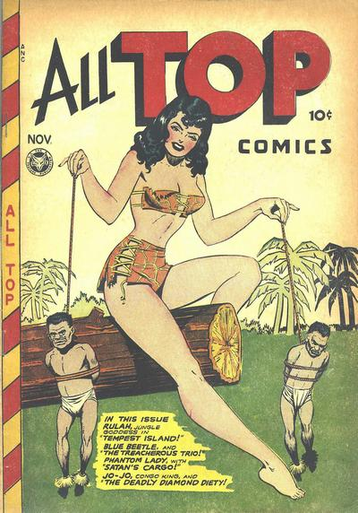 Cover for All Top Comics (Fox, 1946 series) #8