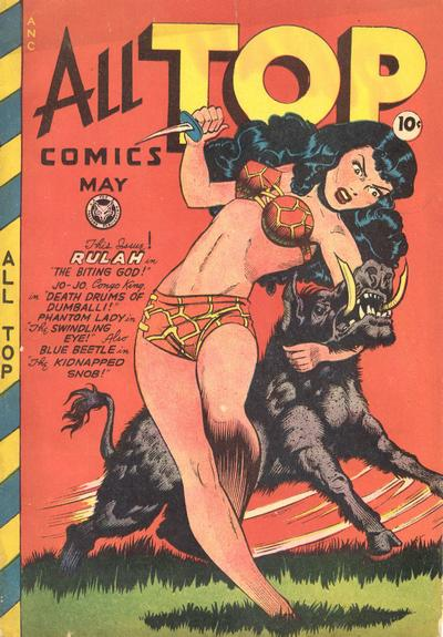 Cover for All Top Comics (Fox, 1946 series) #11