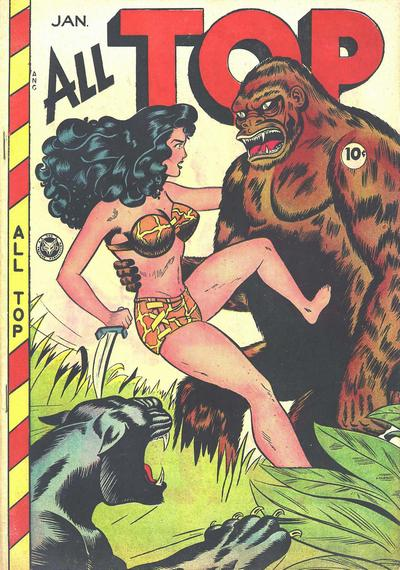 Cover for All Top Comics (Fox, 1946 series) #15