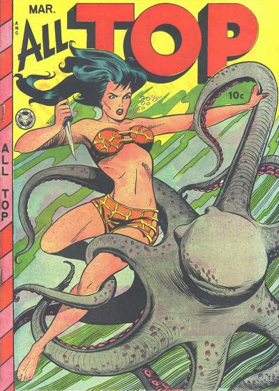 Cover for All Top Comics (Fox, 1946 series) #16