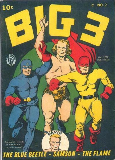 Cover for Big 3 (Fox, 1940 series) #2