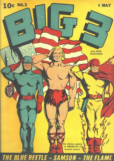 Cover for Big 3 (Fox, 1940 series) #3