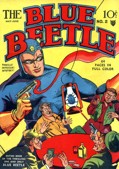 Cover for Blue Beetle (Fox, 1940 series) #2