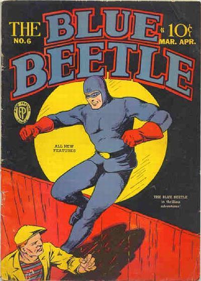 Cover for Blue Beetle (Fox, 1940 series) #6