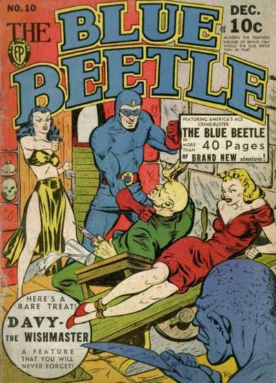Cover for Blue Beetle (Fox, 1940 series) #10