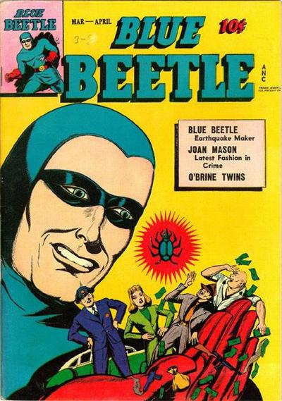 Cover for Blue Beetle (Fox, 1940 series) #41