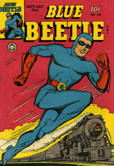 Cover for Blue Beetle (Fox, 1940 series) #44