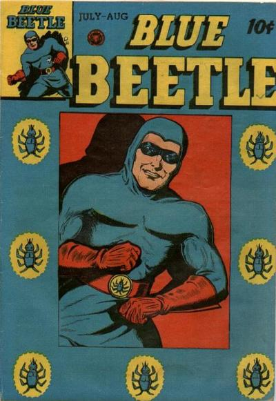 Cover for Blue Beetle (Fox, 1940 series) #42