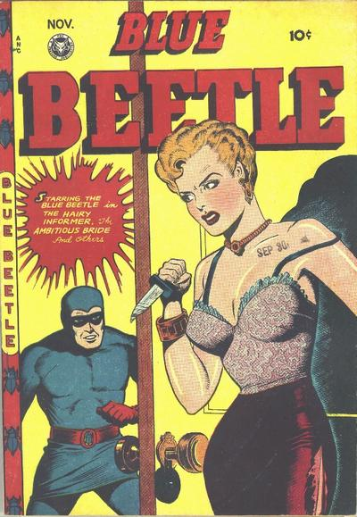 Cover for Blue Beetle (Fox, 1940 series) #50