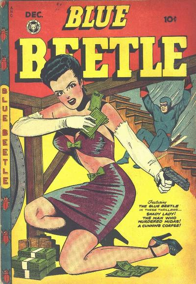 Cover for Blue Beetle (Fox, 1940 series) #51
