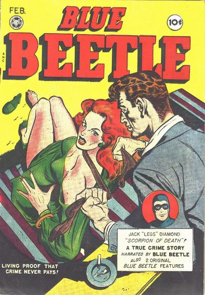 Cover for Blue Beetle (Fox, 1940 series) #53