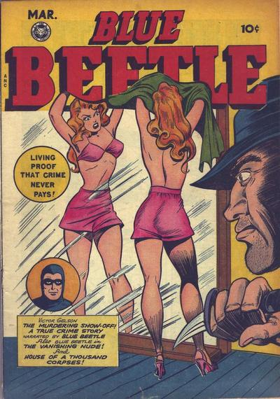Cover for Blue Beetle (Fox, 1940 series) #54