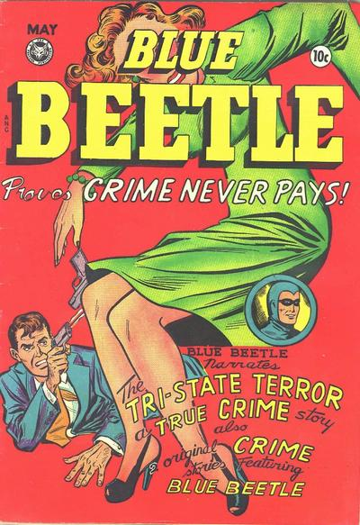 Cover for Blue Beetle (Fox, 1940 series) #56