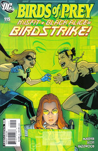 Cover Thumbnail for Birds of Prey (DC, 1999 series) #115