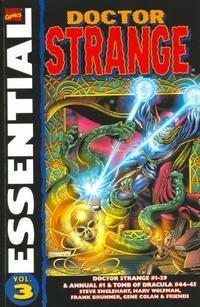 Cover Thumbnail for Essential Dr. Strange (Marvel, 2001 series) #3