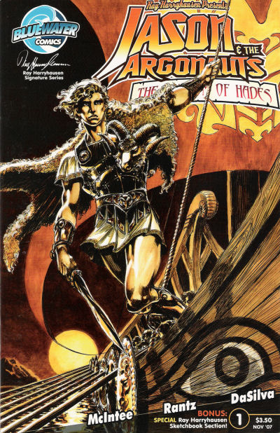 Cover for Jason and the Argonauts: Kingdom of Hades (Bluewater / Storm / Stormfront / Tidalwave, 2007 series) #1 [Cover A]