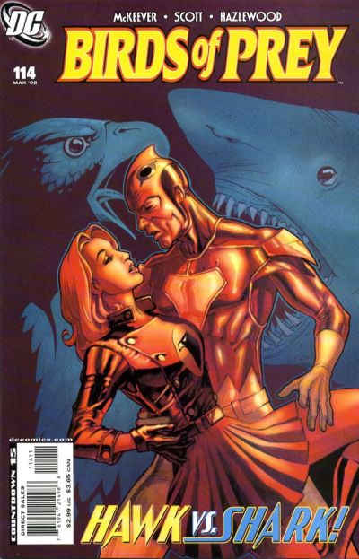 Cover for Birds of Prey (DC, 1999 series) #114