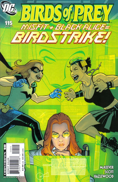 Cover for Birds of Prey (DC, 1999 series) #115