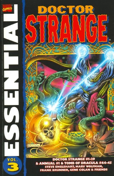 Cover for Essential Dr. Strange (Marvel, 2001 series) #3