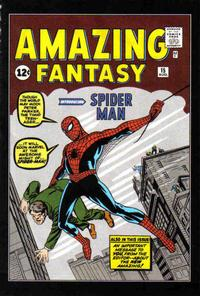 Cover for Amazing Fantasy No. 15 [MGA Die-Cast Car] (Marvel, 2007 series) #[nn]