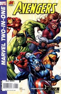 Cover Thumbnail for Marvel Two-In-One (Marvel, 2007 series) #8 [Direct Edition]