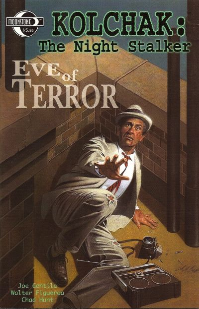 Cover for Kolchak the Night Stalker [Eve of Terror] (Moonstone, 2005 series)