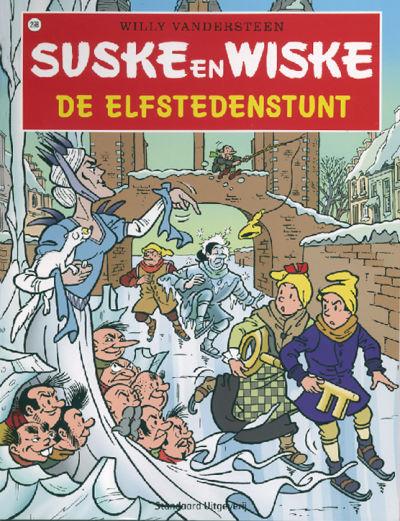 Cover for Suske en Wiske (Standaard Uitgeverij, 1967 series) #298 - De Elfstedenstunt