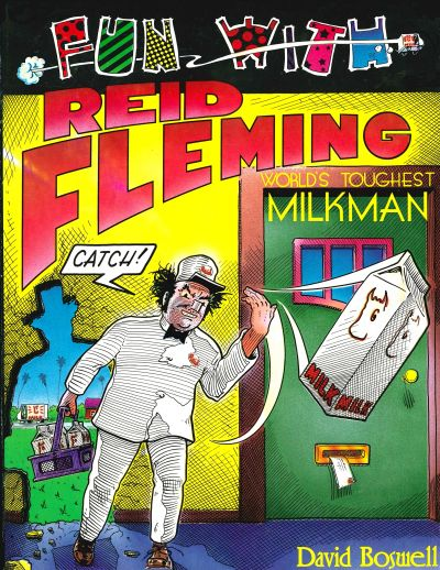 Cover for Fun with Reid Fleming (World's Toughest Milkman) (Eclipse, 1991 series)