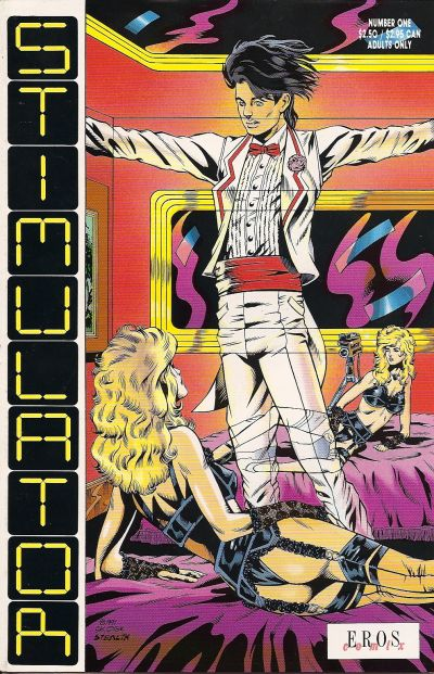 Cover for Stimulator (Fantagraphics, 1991 series) #1