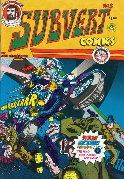Cover for Subvert Comics (Saving Grace, 1976 series) #3