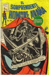 Cover Thumbnail for El Sorprendente Hombre Araña (Editora de Periódicos La Prensa S.C.L., 1963 series) #143