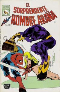Cover Thumbnail for El Sorprendente Hombre Araña (Editora de Periódicos La Prensa S.C.L., 1963 series) #183
