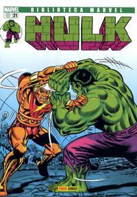 Cover Thumbnail for Biblioteca Marvel: Hulk (Panini España, 2005 series) #21