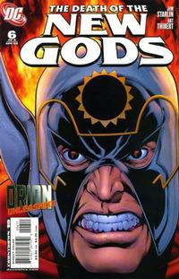 Cover Thumbnail for Death of the New Gods (DC, 2007 series) #6