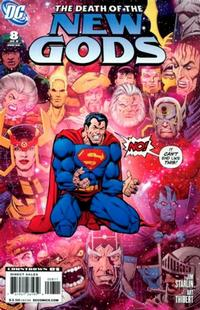 Cover Thumbnail for Death of the New Gods (DC, 2007 series) #8