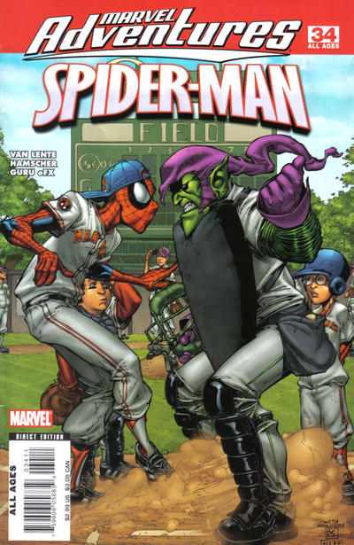 Cover for Marvel Adventures Spider-Man (Marvel, 2005 series) #34
