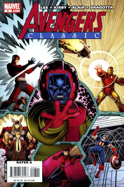Cover for Avengers Classic (Marvel, 2007 series) #8