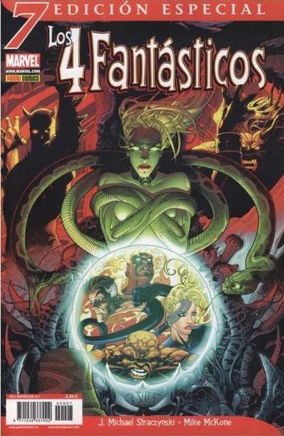 Cover for Los 4 Fantásticos (Panini España, 2006 series) #7