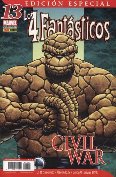 Cover for Los 4 Fantásticos (Panini España, 2006 series) #13