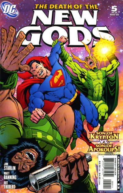 Cover for Death of the New Gods (DC, 2007 series) #5
