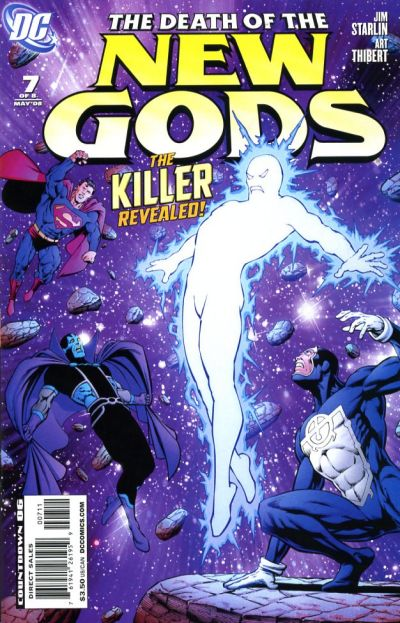 Cover for Death of the New Gods (DC, 2007 series) #7