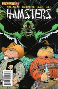 Cover Thumbnail for Adolescent Radioactive Black Belt Hamsters (Dynamite Entertainment, 2008 series) #3 [Tom Nguyen Cover]