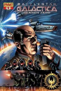 Cover Thumbnail for Battlestar Galactica: Season Zero (Dynamite Entertainment, 2007 series) #4 [Jackson Herbert Cover]