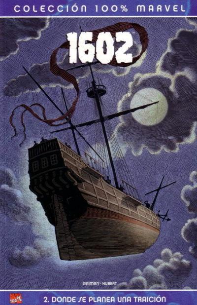 Cover for 100% Marvel. 1602 (Panini España, 2005 series) #2