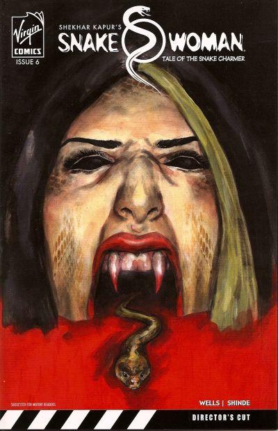 Cover for Snake Woman: Tale of the Snake Charmer (Virgin, 2007 series) #6