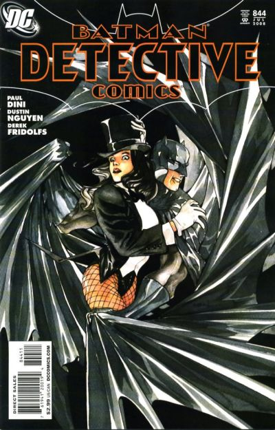 Cover for Detective Comics (DC, 1937 series) #844