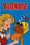 Cover for Blondie (Åhlén & Åkerlunds, 1956 series) #3/1957